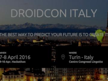 TOP-IX partner di Droidcon Italy 2016