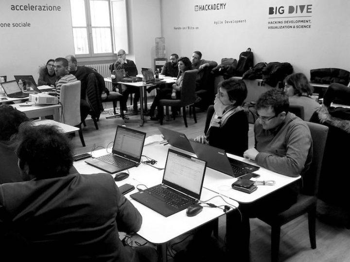 BIG DIVE splits into two: #DataViz & #BigData