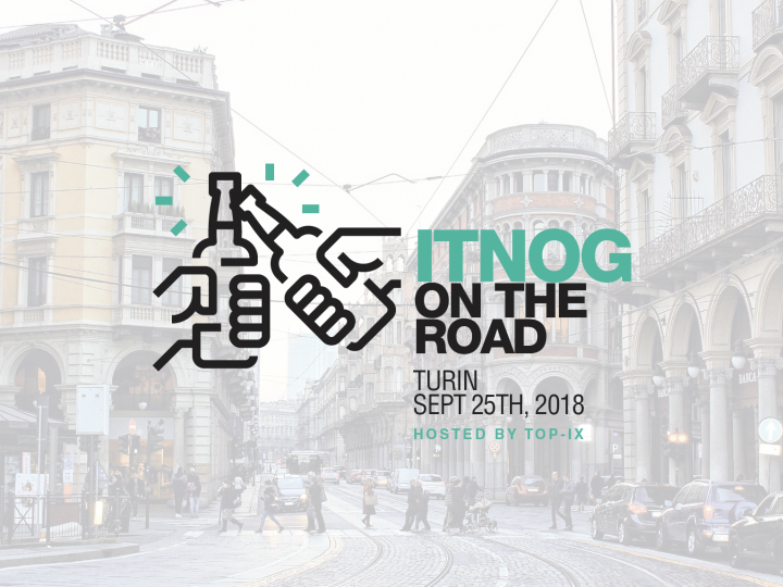 ITNOG On The Road: Workshop + Aperitivo Robotico