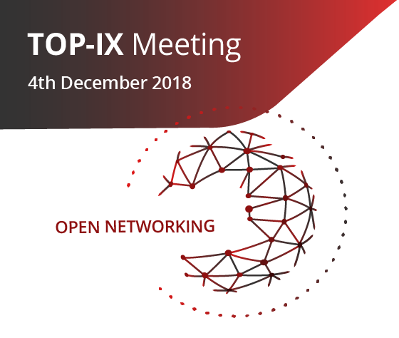 TOP-IX Meeting – December 4th, 2018