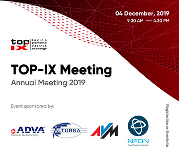 TOP-IX Meeting 2019
