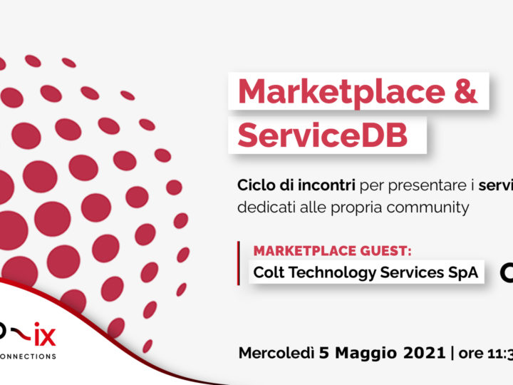 "Al via il ciclo ""MARKETPLACE & SERVICE DB"""
